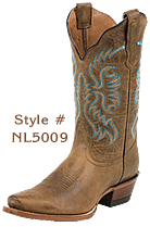 Ladies Nocona Boots are practical and durable with a certain fashion whimsey